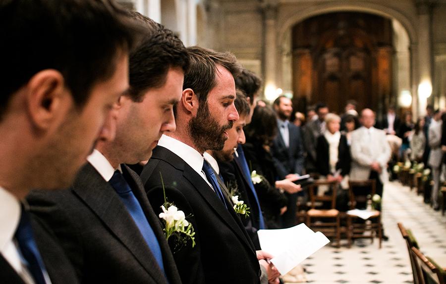 mariage portrait témoins