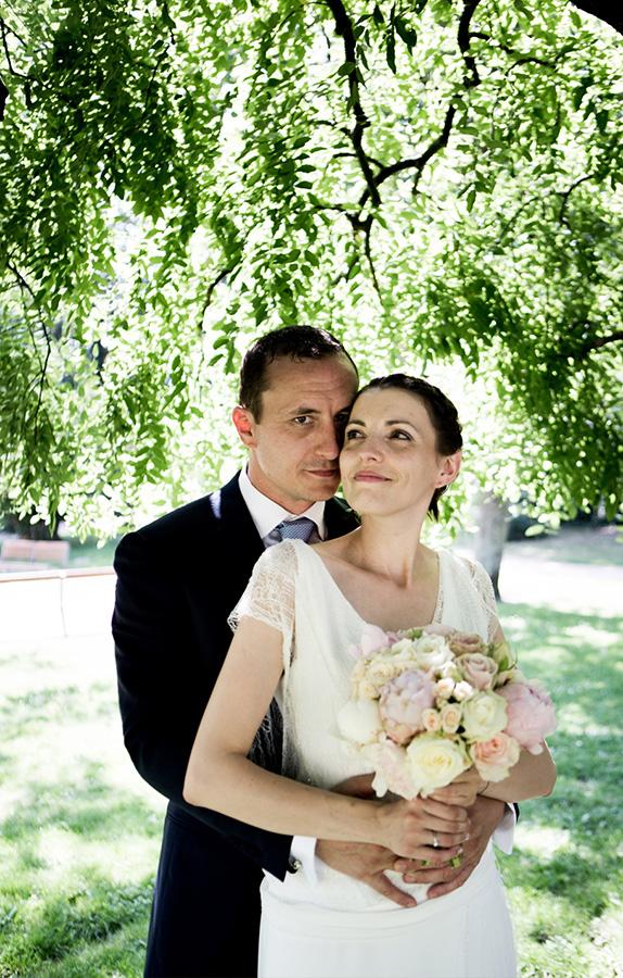 mariage portrait mariés