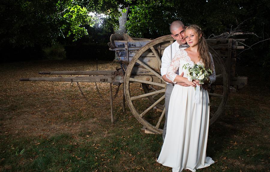 mariage mariés portrait