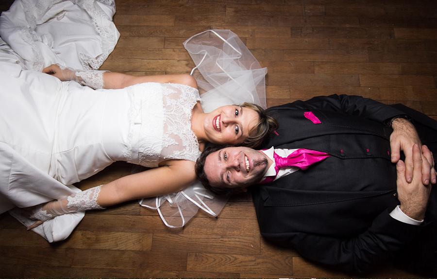 mariage mariés portrait sol