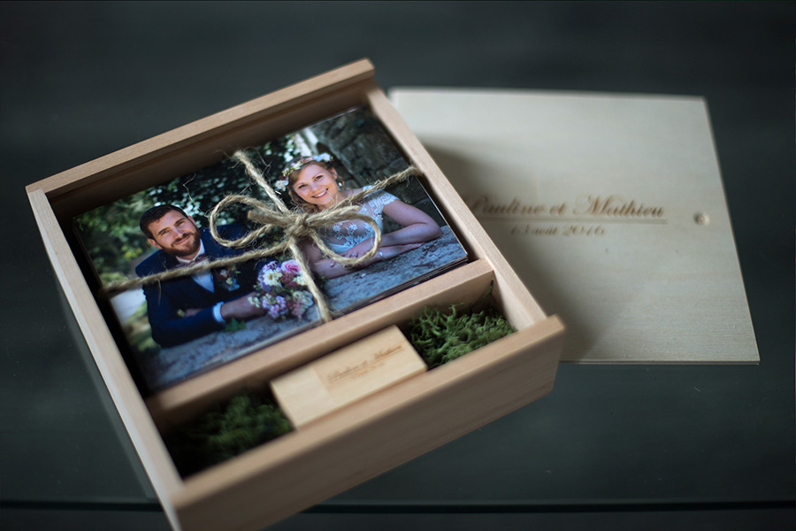 mariage box photo