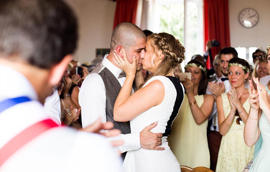 mariage mariés portrait mairie