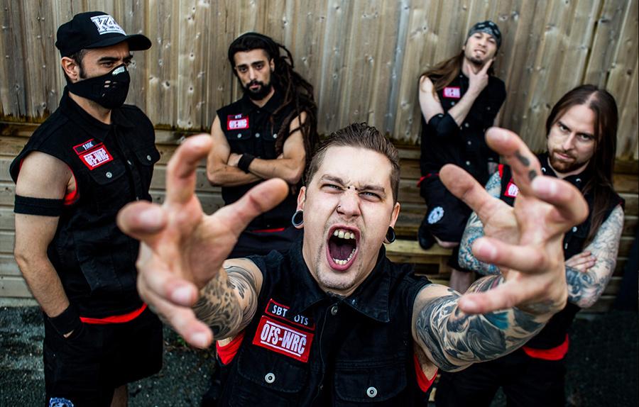 portrait groupe metal kauseforkonflikt