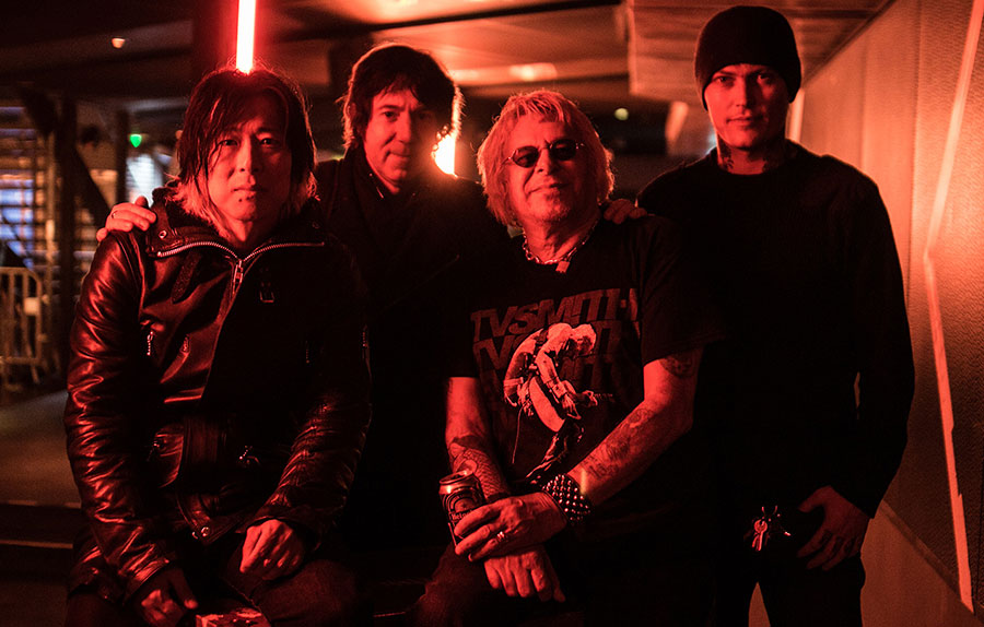 portrait groupe punk uk subs